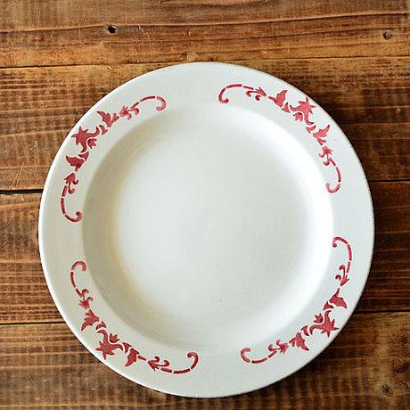 手繪陶瓷|8.7寸平盤  公雞