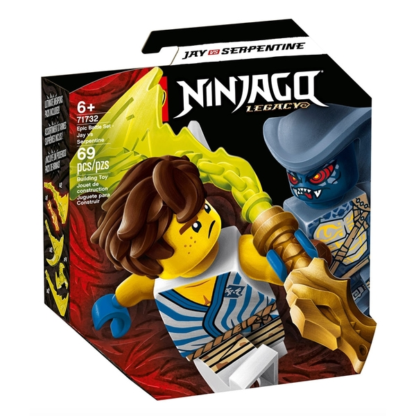 LEGO樂高 Ninjago忍者系列 終極決戰組 阿光對決蛇族_LG71732