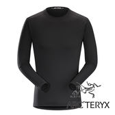 【Arc'teryx 始祖鳥】男 Phase SL輕量內層圓領衫『黑』L067528 機能衣│套頭衫