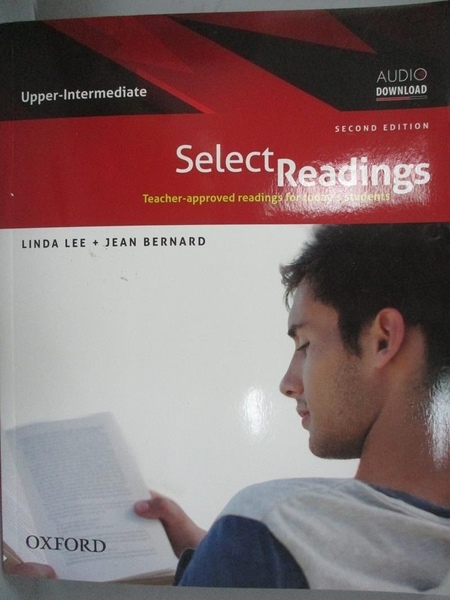 【書寶二手書T3/語言學習_YCX】Select Readings:Upper-Intermediate_Linda L
