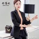 外套 彩黛妃春夏新款韓版女裝時尚大碼顯瘦小西服休閒百搭潮流西裝