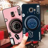 贈支架 三星 Galaxy J2 J3 J7 Pro 2018 手機殼 復古相機 手機套 TPU軟殼 全包 減震防摔 保護殼 保護套