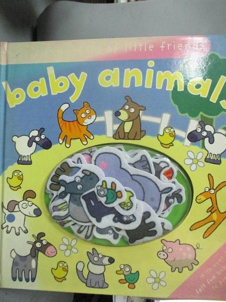 【書寶二手書T7/少年童書_NFT】Felt Fun Baby Animals_Hannah Wilson, Emily Hawkins