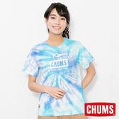 CHUMS 日本 女 Booby Face 短袖圓領T恤 水染雙色 CH111243Z077