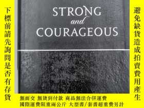 二手書博民逛書店Strong罕見& Courageous : 365 Daily