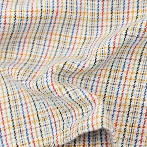 【愛的世界】純棉磨毛細格紋襯衫/1~4歲-中國製- ★秋冬上著