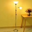 好萊仕落地燈客廳臥室簡約LED現代裝飾書房多功能子母立式台燈 夢幻小鎮