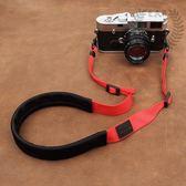 背帶sony佳能微單數碼相機帶減壓個性攝影肩帶掛脖掛繩舒適 中秋烤肉鉅惠
