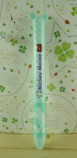 【震撼精品百貨】Micky Mouse_米奇/米妮 ~雙色筆-綠