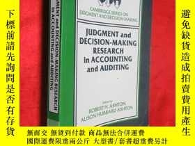 二手書博民逛書店Judgment罕見and Decision-Making Re