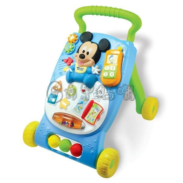 迪士尼嬰兒寶寶學習車【六甲媽咪】
