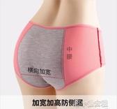 夏季生理期內褲女月經期前后防漏大碼透氣女士例假三角 『洛小仙女鞋』