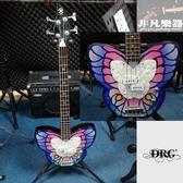 【非凡樂器】二手商品 DAISY ROCK  Butterfly Bass / 蝴蝶造型電貝斯 / 九成新