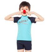 ★奧可那★ 韻動兩件式藍色泳衣