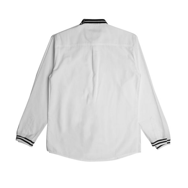 FAIRPLAY NIALLE - WHITE 休閒 質感 襯衫【GT Company】