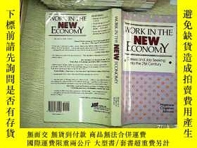 二手書博民逛書店Work罕見in the new economyY203004