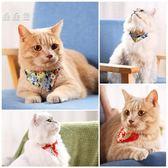和风猫咪围巾宠物三角巾猫围脖围兜围嘴狗狗口水巾冬宠物装饰品