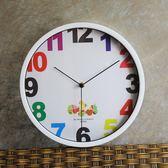 掛鐘時尚藝術數字掛鐘個性創意時鐘現代簡約鐘錶客廳臥室 igo