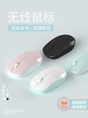 滑鼠 適用小米惠普戴爾華為蘋果聯想筆記本電腦無線滑鼠充電靜音男女生 歐歐