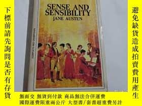 二手書博民逛書店SENSE罕見AND SENSIBILITY JANE AUSTENY247009 出版1968