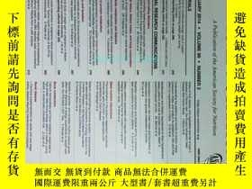 二手書博民逛書店THE罕見AMERICAN JOURNAL OF CLINICAL NUTRITION 2014 02 美國臨床營