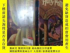 二手書博民逛書店英文原版罕見HARRY POTTER and the sorcerer s stoneY357459 ROWL