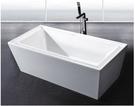 【麗室衛浴】BATHTUB WORLD D-013 壓克力 獨立造型缸 180*85*60CM