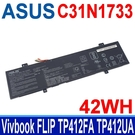 華碩 ASUS C31N1733 原廠電池 TP412 TP412U TP412FA TP412UA