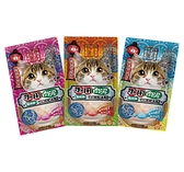 寵物家族-喜樂寵宴-離胺酸之機能保健肉泥條(4入/每條16g)