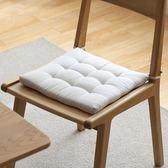 【618好康鉅惠】簡約椅墊加厚竹節棉墊子日式條紋餐桌座墊