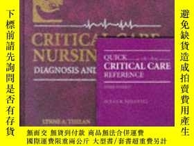 二手書博民逛書店Critical罕見Care Nursing: Diagnosis and Management-危重病護理:診斷