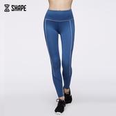 健身緊身褲女瑜伽高腰彈力速干顯瘦透氣跑步運動壓力褲