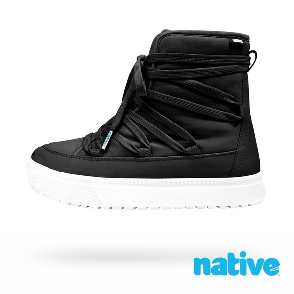 native CHAMONIX 男/女靴-時尚黑