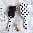 梳子 韓國簡約ins風圓點波點氣囊梳學生家用長髮捲髮梳子氣墊梳 店慶降價