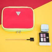 簡約可懸掛式洗漱包 大容量 帶勾 化妝收納袋 旅行 多功能 分層 網袋【Z10-2】♚MY COLOR♚