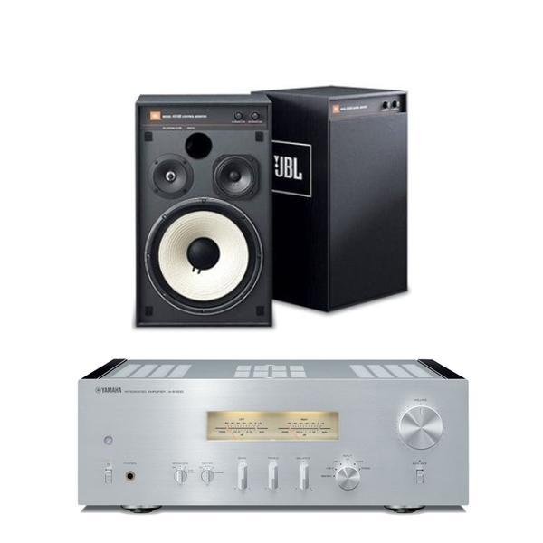 Yamaha A-S1200 擴大機 + JBL 4312G 喇叭組合 公司貨