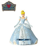 【正版授權】Enesco 仙杜瑞拉 抽屜盒 塑像 公仔 精品雕塑 灰姑娘 Cinderella 迪士尼 Disney - 959506