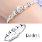 《Caroline》★925鍍銀手環.典雅設計優雅時尚品味流行時尚手環69251