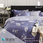 全鋪棉天絲床包兩用被 雙人5x6.2尺 芙怡 100%頂級天絲 萊賽爾 附正天絲吊牌 BEST寢飾