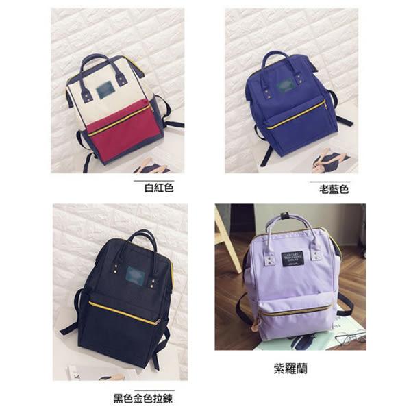[預購] 大開口 後背包 韓版 日本原宿風 筆電 包 非側背包 簡約 雙肩包 沙發 書包 肩背包