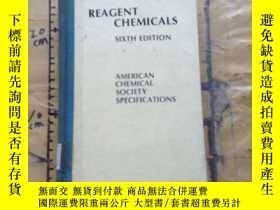 二手書博民逛書店Reagent罕見chemicals: American Che