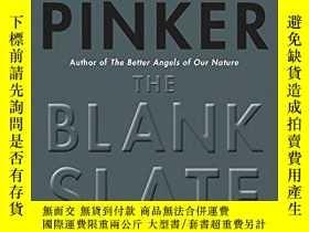 二手書博民逛書店The罕見Blank Slate-白板Y436638 Steven Pinker Penguin Books,