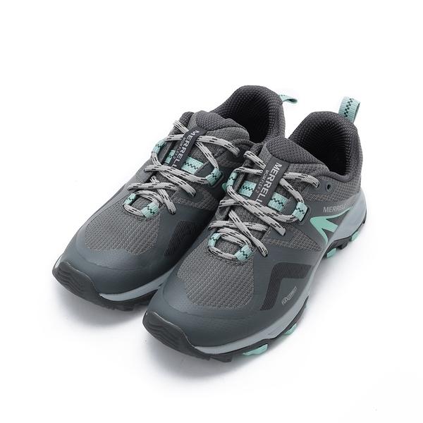 MERRELL MQM FLEX 2 GORE-TEX JPN 防水越野鞋 灰/薄荷綠 ML034958 女鞋 登山│健行│郊山│多功能│戶外
