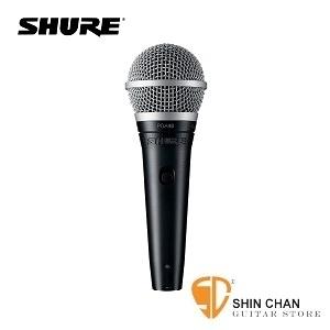 shure麥克風 ▷ 動圈式麥克風 Shure PGA48-XLR 人聲/演講專用 附麥克風線【PGA-48】