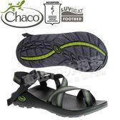 Chaco ZCM02_HD16分裂黑 男越野運動涼鞋-Z2夾腳款 美國佳扣水陸兩用鞋/沙灘拖鞋/織帶運動鞋
