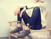 冬季棉鞋男保暖加絨加厚雪地靴短靴男鞋老北京布鞋一腳蹬懶人鞋