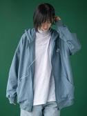 棒球服女春秋新款ins潮流行拉鏈衛衣寬鬆bf開學季學生短外套 亞斯藍