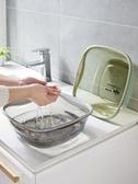優思居方形透明洗臉盆加厚塑料盆家用學生宿舍洗衣盆嬰兒童小盆子
