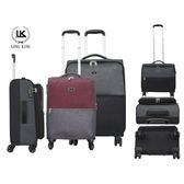 LONG KING 24吋商務行李箱-黑、灰兩色隨機出貨【愛買】