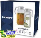 [COSCO代購] C114288 Luminarc 玻璃冷水瓶 Pitcher 4pc set